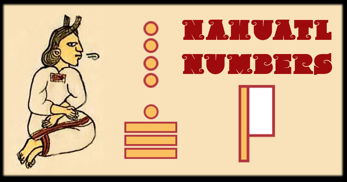 Nahuatl Numbers with Pronunciation