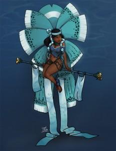 chalchiuhtlicue | Mexica | Aztec